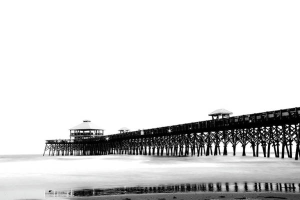 Wall Art - Photograph - Folly Beach Pier by Drew Castelhano