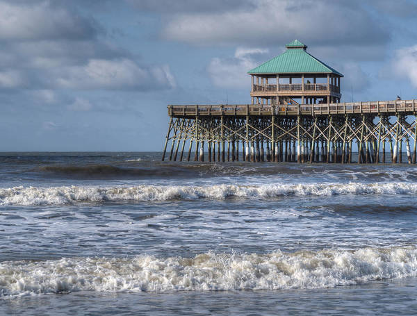 Photograph - Folly Beach Pier by Michael Colgate