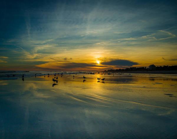 Photograph - Folly Beach Seascape by Donnie Whitaker