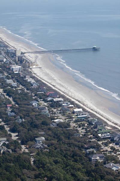 Photograph - Folly Beach South Carolina Aerial by Dustin K Ryan