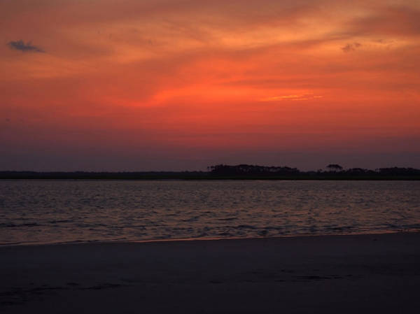 Photograph - Folly Beach Sunset by Michael Colgate