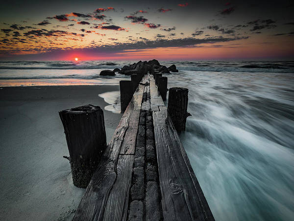 Photograph - Folly Beach Tale Of Two Sides by Donnie Whitaker