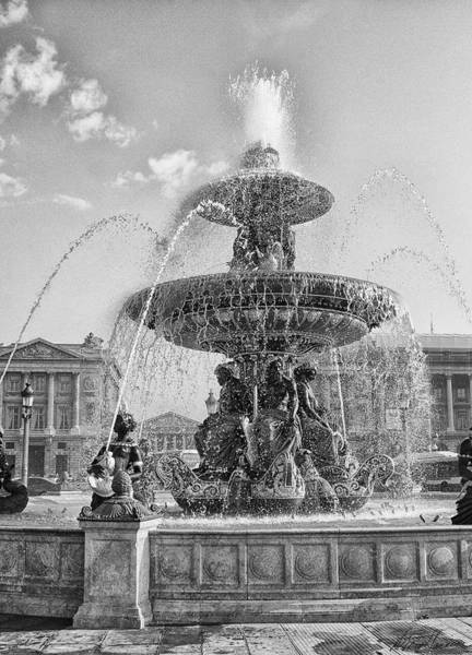 Photograph - Fontaine Des Fleuves by Diana Haronis