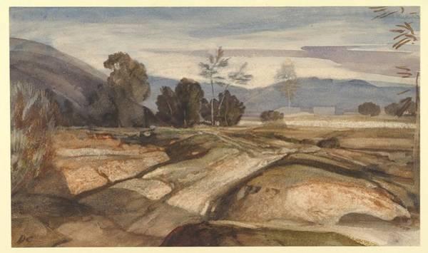 Gabriel Painting - Fontainebleau by Alexandre Gabriel