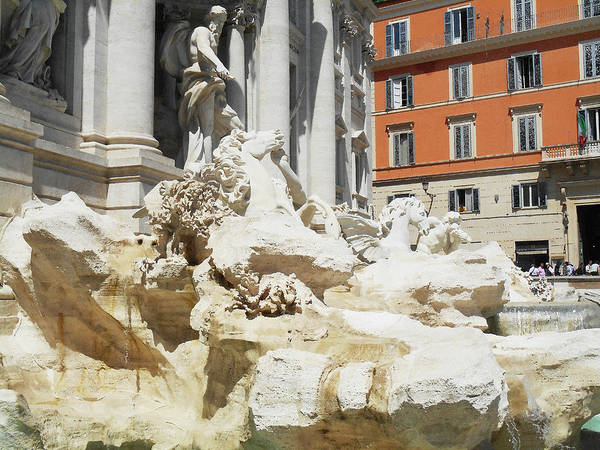 Wall Art - Digital Art - Fontana Di Trevi by Irina Sztukowski