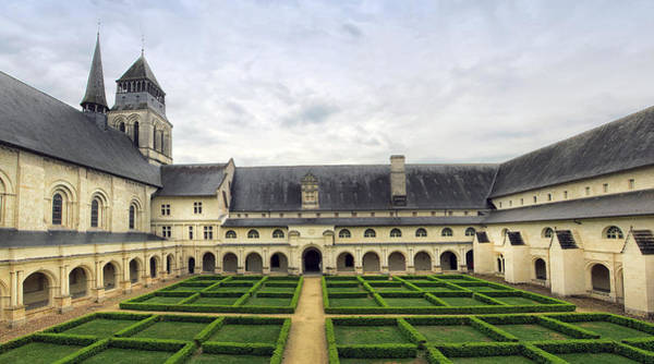 Fontevraud Photograph - Fontevraud Abbey Panorama by Dave Mills