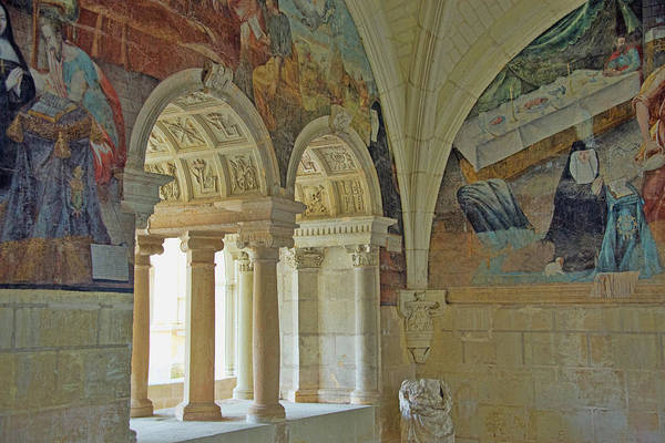 Fontevraud Photograph - Fontevraud Abbey Refectory, Loire, France by Curt Rush