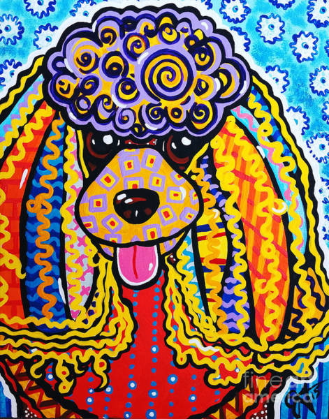 Field Spaniel Painting - Foo Foo by Jackie Carpenter