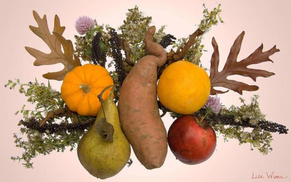 Digital Art - Food Bouquet by Lise Winne