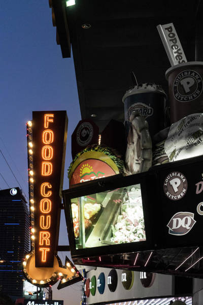 Photograph - Food Court by Sharon Popek
