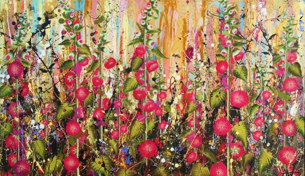 Wall Art - Painting - Food For Bees And Butterflies by Angie Wright