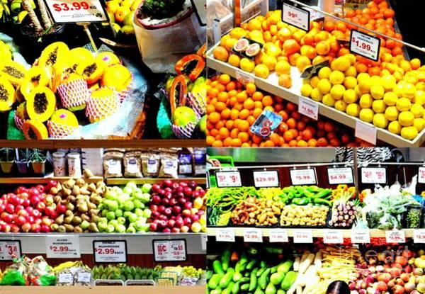 Photograph - Food Market  by Joyce Woodhouse