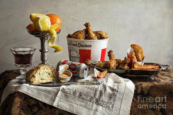 Photograph - Food Not So Fast by Elena Nosyreva