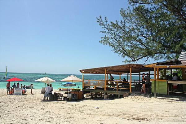 Wall Art - Photograph - Food Shack On The Beach  by Nick Difi