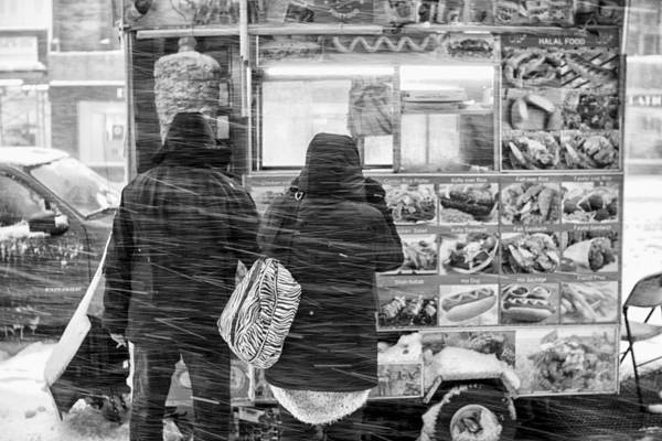 Photograph - Food Truck In Blizzard 10 X 16 Le by Dave Beckerman