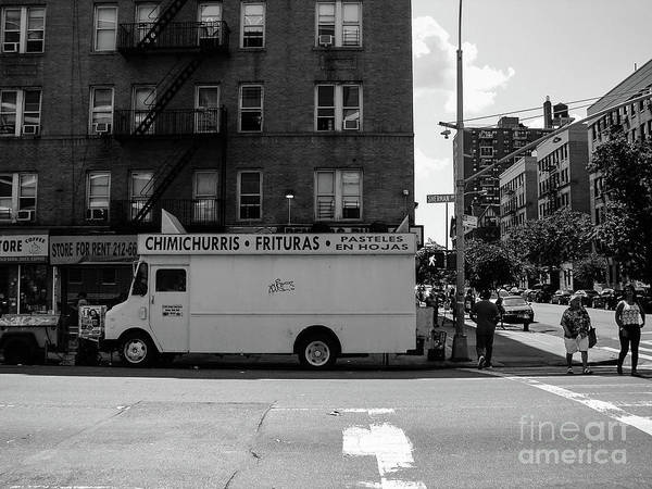 Photograph - Food Truck On Sherman Avenue by Cole Thompson