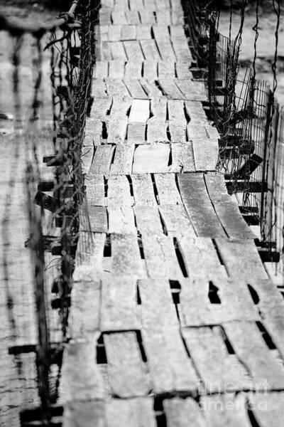 Wall Art - Photograph - Foot Bridge by Gabriela Insuratelu