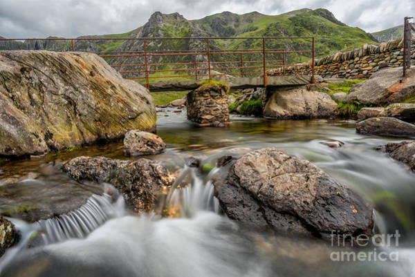 Snowdonia Wall Art - Photograph - Foot Bridge Snowdonia by Adrian Evans