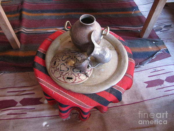 Photograph - Foot Washing Equipment by Donna L Munro