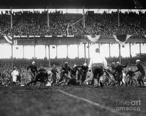 Photograph - Football Game, 1925 by Granger