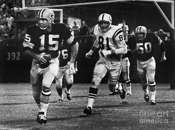 Baltimore Colts Photograph - Football Game, 1966 by Granger