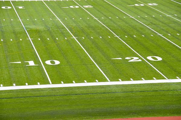 Campus Photograph - Football Stadium, Cornell University, Ithaca, New York by Dennis Macdonald