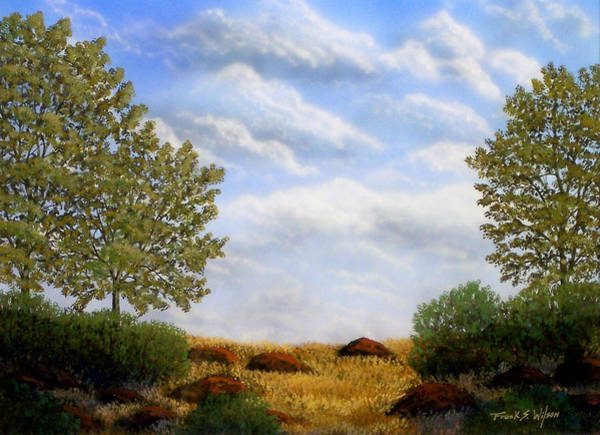 Painting - Foothills Afternoon by Frank Wilson