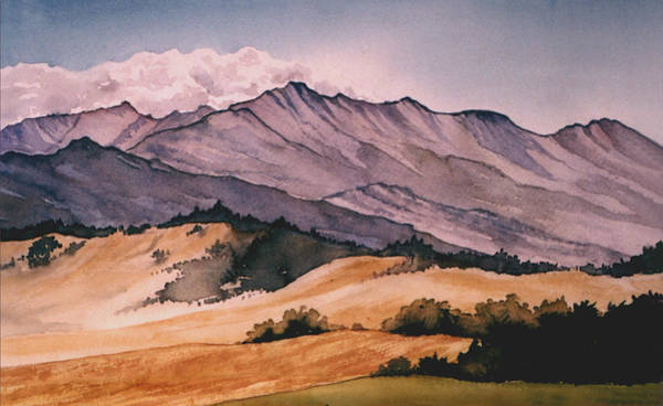 Painting - Foothills by Diane Ellingham