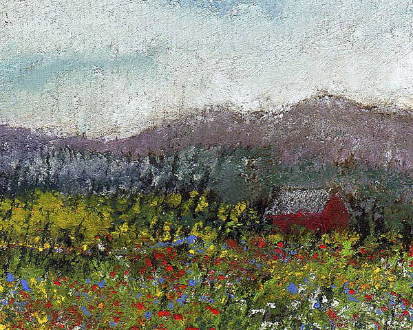 Painting - Foothills Meadow by David Patterson