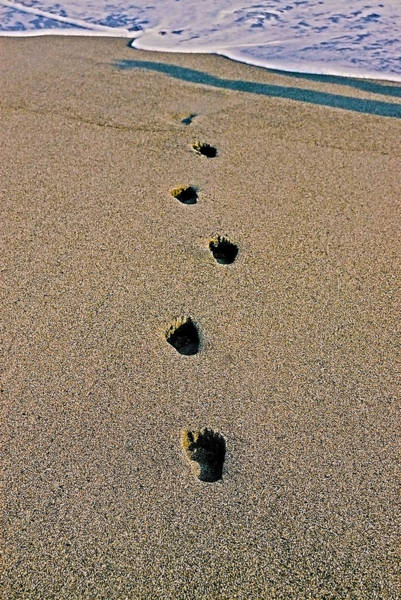 Photograph - Footprints In The Sand ... by Juergen Weiss