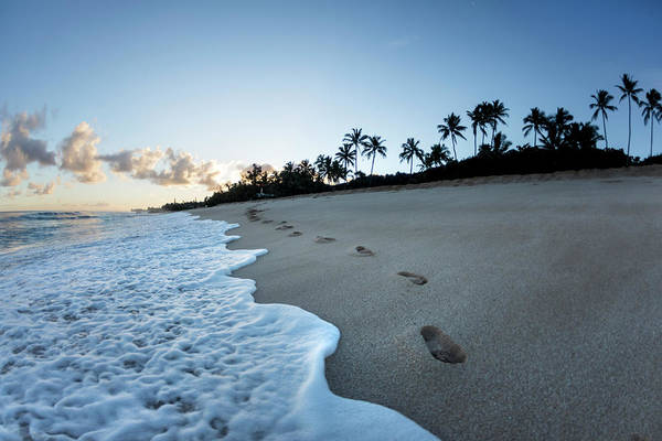 Footstep Wall Art - Photograph - Footsteps To Paradise by Sean Davey