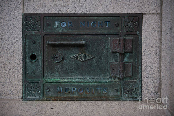 Photograph - For Night Deposits by Dale Powell