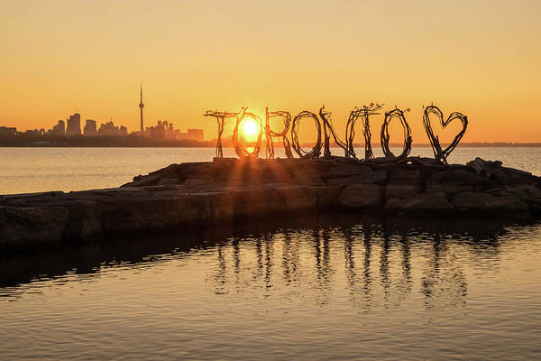 Photograph - For The Love Of Toronto by Georgia Mizuleva