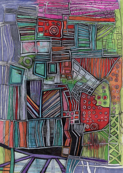 Colored Pencils Mixed Media - For Two Brothers by Sandra Church