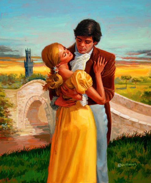Painting - Forbidden Love by Mel Greifinger