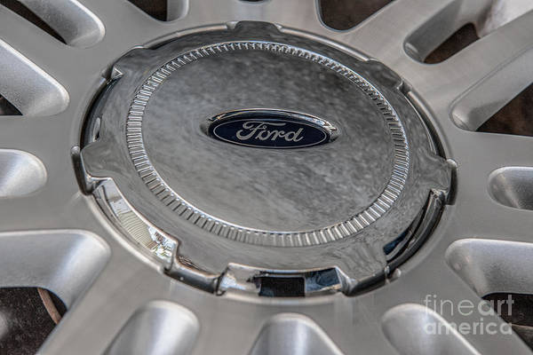 Photograph - Ford 150 Wheel by Dale Powell