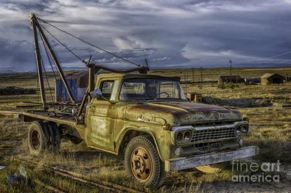 Photograph - Ford 1958 - F-series Pickup  by Bitter Buffalo Photography