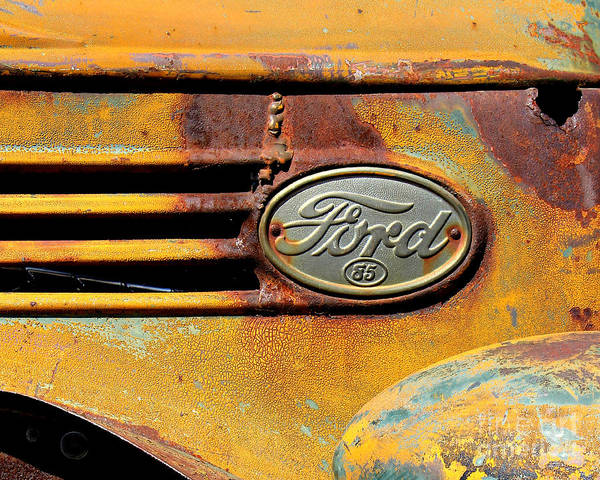 Wall Art - Photograph - Ford 85 by Perry Webster
