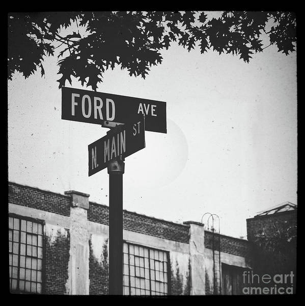 Wall Art - Photograph - Ford And Main by Colleen Kammerer