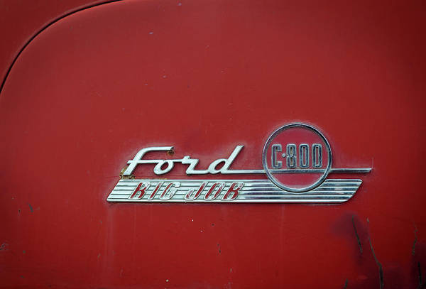 Photograph - Ford Big Job by Bud Simpson