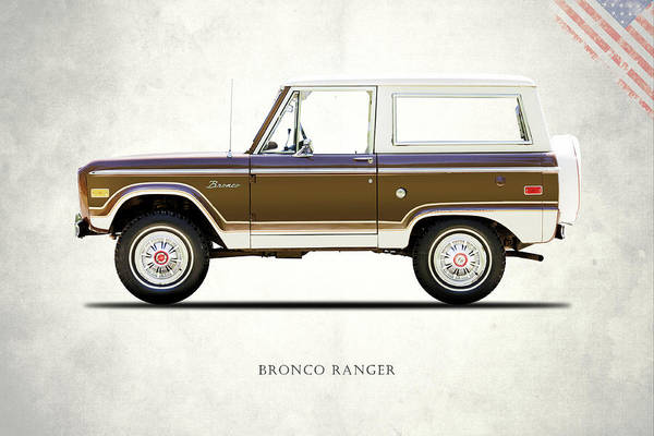 Wall Art - Photograph - Ford Bronco Ranger 1976 by Mark Rogan