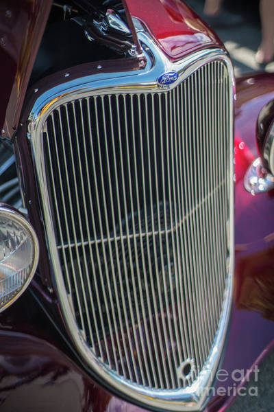 Firebird Photograph - Ford Classic Hotrod by Mike Reid