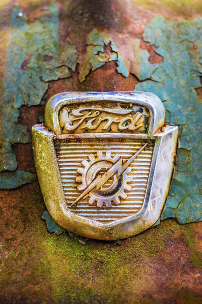 Photograph - Ford Emblem by Matthew Pace