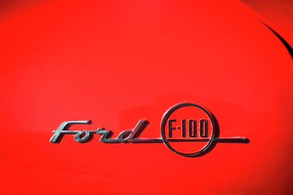 Photograph - Ford F100 by Bud Simpson