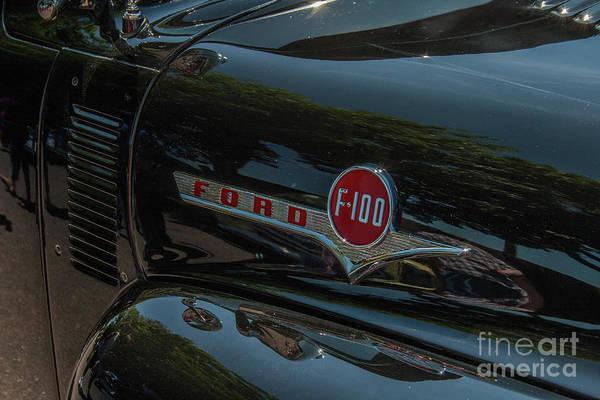 Photograph - Ford F100 by Tony Baca