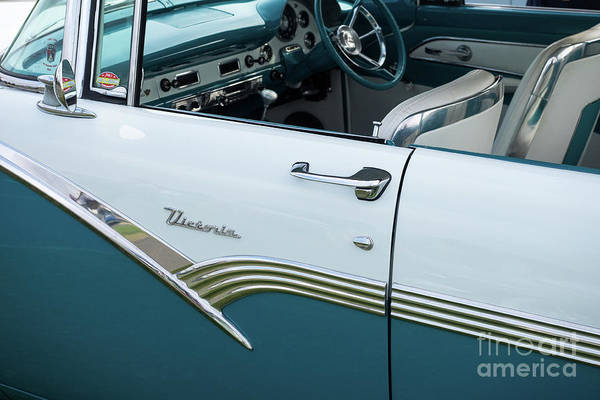 Photograph - Ford Fairlane Victoria 02 by Rick Piper Photography