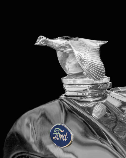 Photograph - Ford Flying Quail Radiator Cap by Susan Rissi Tregoning