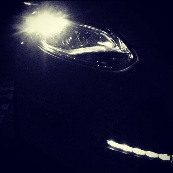 Jaguar Photograph - Ford Focus ! Evil Eyes!  Do You Like by Azur Group