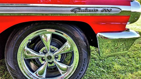 Photograph - Ford Galaxie 500 by Bill Hamilton