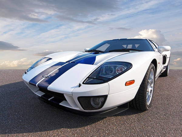 Photograph - Ford Gt 2005 by Gill Billington